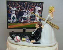 baseball wedding cake toppers futbol cake topper etsy