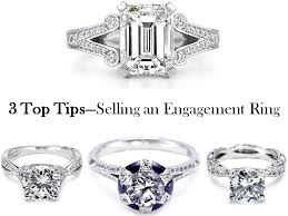 selling engagement ring top tips to selling a pre owned engagement ring or wedding band