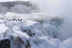 frozen niagara falls 1936 photography niagara falls
