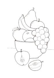 coloriage fruits legumes 1 à colorier allofamille