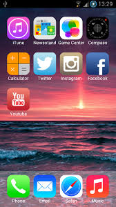 iphone apk ios 7 launcher theme hd 1mobile