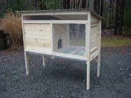 custom rabbit hutch plans with photos buy sell and trade