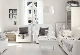 contemporary white living room design ideas brown leather