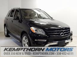 used mercedes suv for sale 2015 used mercedes m class ml350 for sale in canton oh