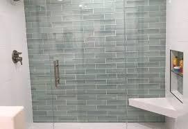 glass subway tile bathroom ideas luxurious the 25 best glass tile bathroom ideas on