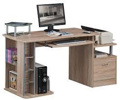 bureaux informatique sixbros bureau informatique aspect bois de chêne s 202a 1845