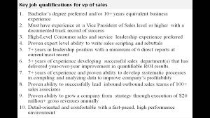 Mortgage Consultant Job Description Sales Vp Job Description Youtube