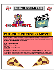brc chuck e cheese explore coffey county