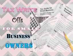 tax write off for small business owners the art of home making