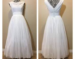 50 s wedding dresses 50s wedding dress etsy