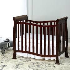 modern mini crib mini crib and care changing table in natural