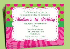 1st Birthday Invitation Cards Designs Wonderful Birthday Party Invite Wording Which Is Currently A Trend