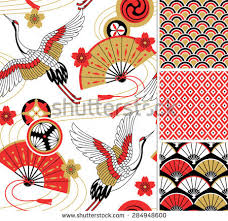 free japanese ornaments vector free vector stock