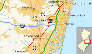 Map Of New Jersey Shore County Route 547 New Jersey Wikipedia
