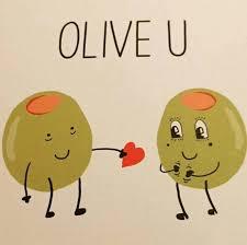 Olive Meme - olive you piglove