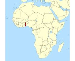 togo location on world map maps of togo detailed map of togo in tourist map