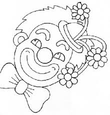 coloring page clown coloring pages 29