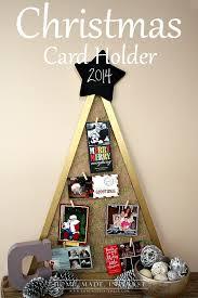 christmas card holder diy christmas card holder home made interest