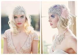 jewelled headdress glam sophisticated bridal jewellery