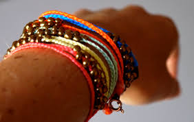 thread bead bracelet images Diy neon braided bead bracelets pumps iron jpg