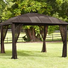 Gazebos With Hard Tops by Grand Resort 12x12 Hardtop With Dome Roof Limited Availability