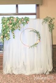 wedding backdrop rustic callia greenery sheer backdrop rental vintagebash