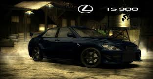 custom lexus is300 nfs most wanted lexus is 300 customization hd 720p youtube