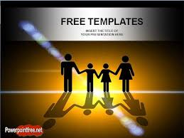 free powerpoint template family health insurance powerpoint