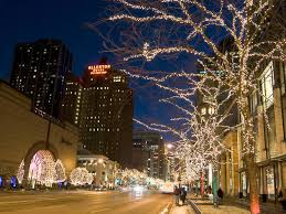 chicago trolley holiday lights tour holiday lights city lights tour things to do in chicago