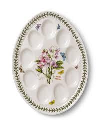 deviled egg dish portmeirion botanic garden devilled egg dish 12 inch