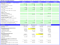 Mortgage Calculator In Excel Template Free Excel Mortgage Calculator And Comparator Spreadsheet