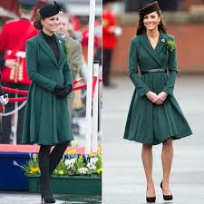 duchess kate duchess kate recycles emilia wickstead dress pregnant kate middleton recycles green emilia wickstead coat for st