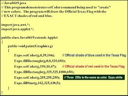 java0601 java this program demonstrates that the methods of a
