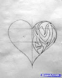 drawing a tribal heart step by step tribal art pop culture