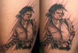 tattoo blog michael jackson tattoo portrait