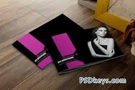 fashion u0026 beauty brochure template 46203 free download photoshop