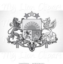 royalty free stock lion designs of shields