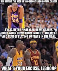 Kobe Bryant Injury Meme - nba memes on twitter kobe bryant is lighting up lebron james