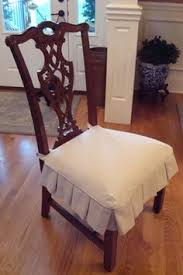 How To Make Slipcovers For Dining Room Chairs by Slipcovers Dining Room Skirt Example Sewing Projects