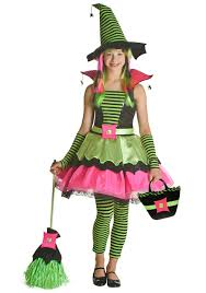Witch Halloween Costumes Girls Tween Spiderina Witch Costume