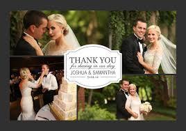 wedding photo thank you cards 8 unique wedding thank you card ideas mixbook inspiration