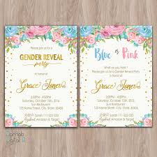 gender reveal invitation template gender reveal invitation printable gender reveal invites