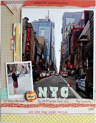 New York travel set images 298 best scrapbook layouts travel images jpg