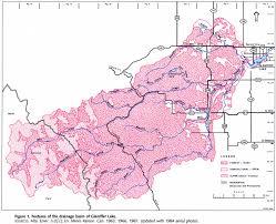 Banff National Park Map Gleniffer Lake