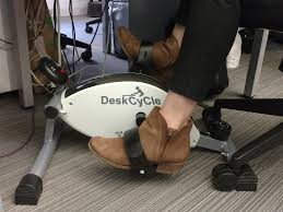 Desk Pedal Pros And Cons Of Using A Desk Cycle Business Insider
