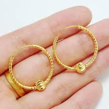 saudi arabia gold earrings style gold plated jewelry earrings ear ring transporter