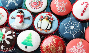 Christmas Cake Decoration Ideas Uk Christmas Cakes And Cookies Be Inspired By Sugarcraft Artist
