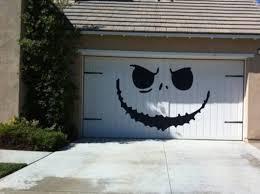 halloween garage door