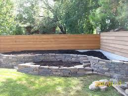 feminine lowes landscaping blocks for backyard fence landscape