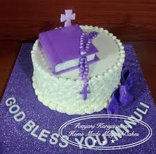 hiru designs simple one tier holy communion cake for a facebook
